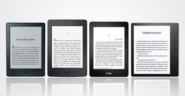 Comparatif Kindle
