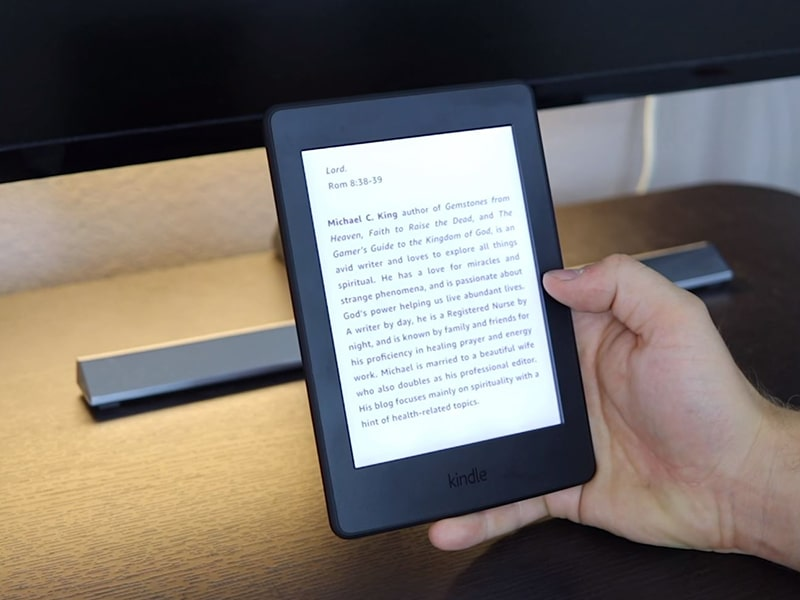 Kindle Paperwhite retroéclairage