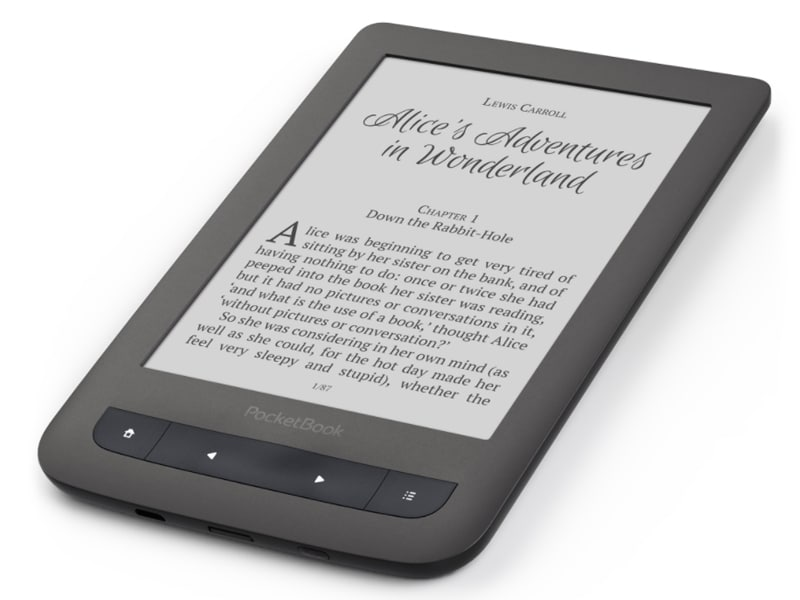 Ergonomie Pocketbook Touch Lux